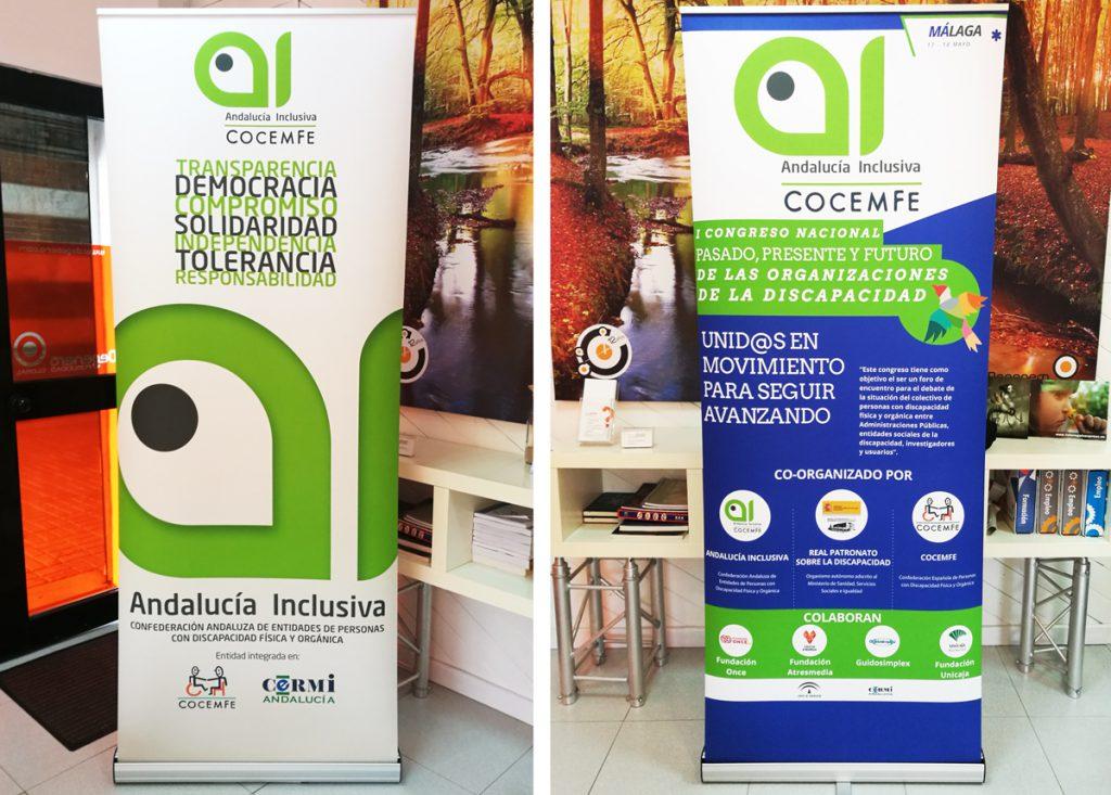 Roll up para Andalucía Inclusiva