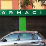 Frontal luminoso para Farmacia