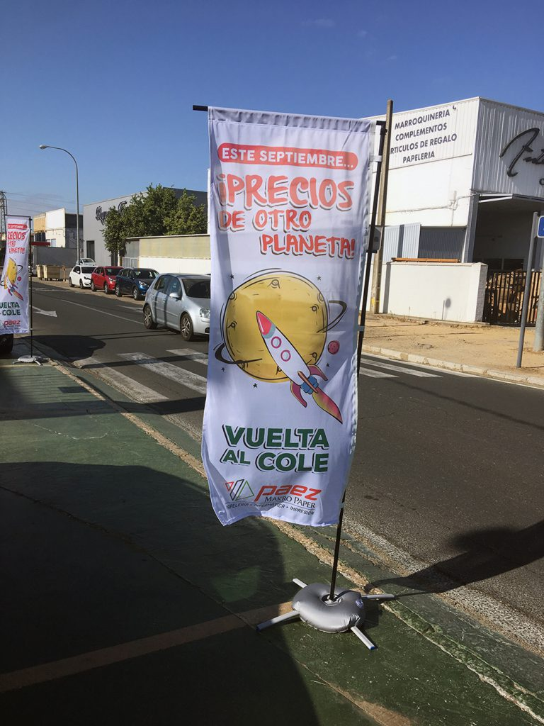 Fly Banner para Paez