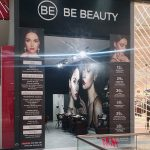Montaje de corpóreo y lonas para Be Beauty