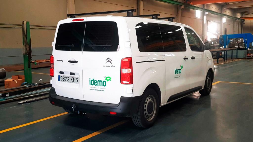 Rotulación de vehículos IDEMO
