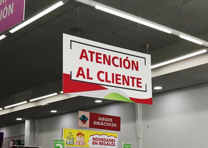 Impresión de carteles señalizadores para PAEZ