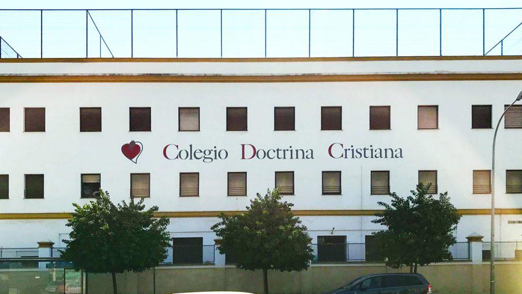 Letras Recortadas Colegio Doctrina Cristiana
