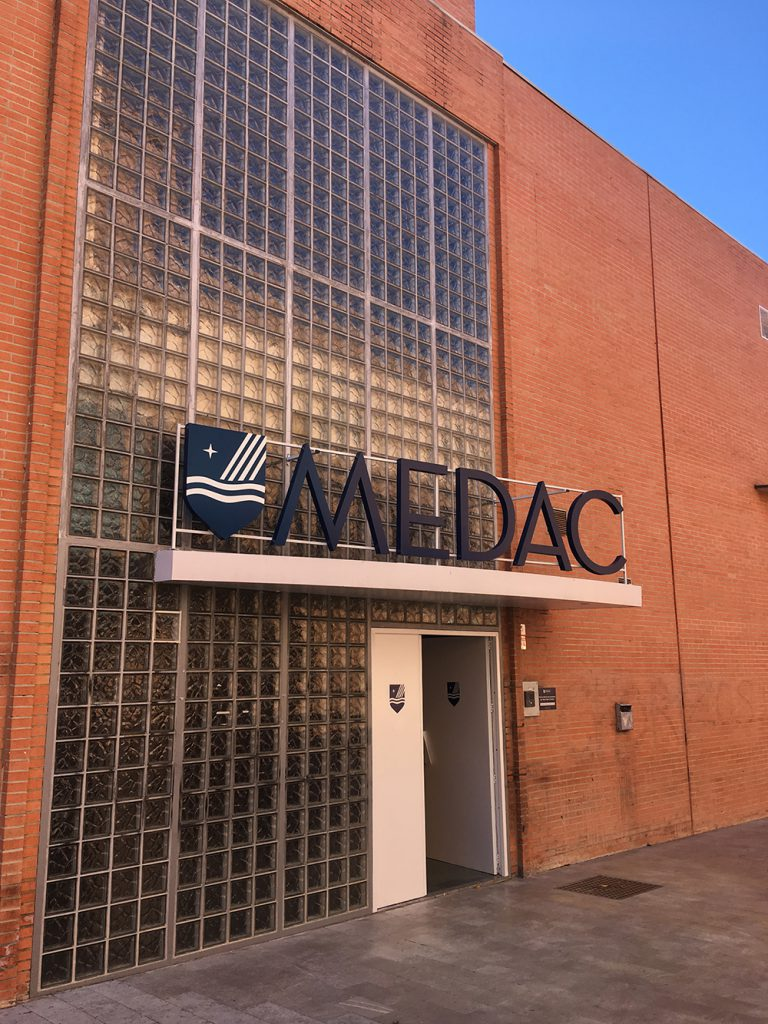 Rótulo corpóreo para Medac