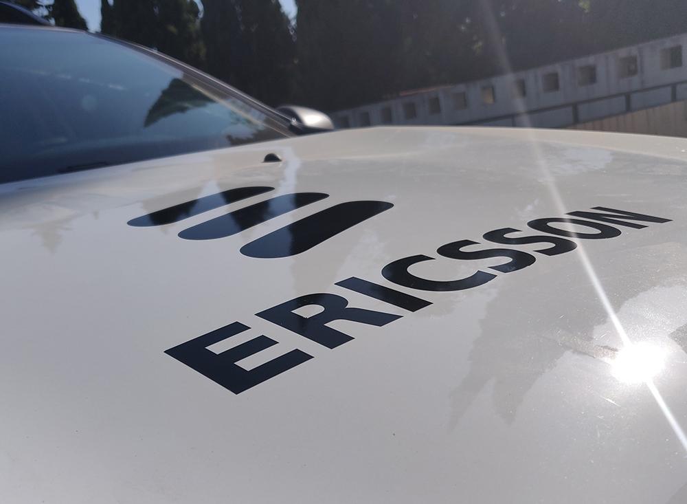 Rotulación de vehículo para Ericsson