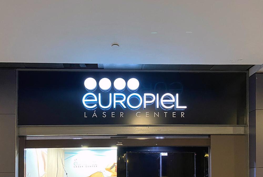 Rotulación corporativa para Europiel
